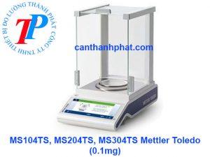 Cân điện tử MS-TS Mettler Toledo