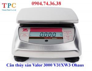 Cân thủy sản Valor 3000 (V31XW3) Ohaus Mỹ