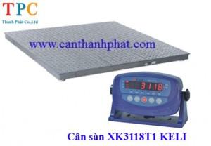 Cân sàn 2 tấn XK3118T1 Keli