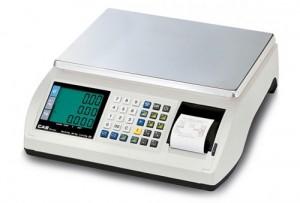 Cân tính giá in hóa đơn (bill) Poscale CAS Hàn Quốc