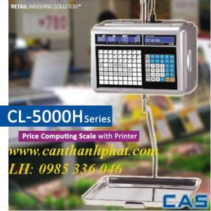 Cân tính tiền siêu thị, cân in nhãn CL5000H CAS