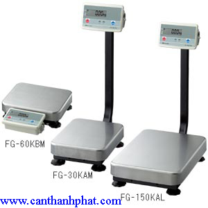 Cân bàn điện tử FG series AND-Japan