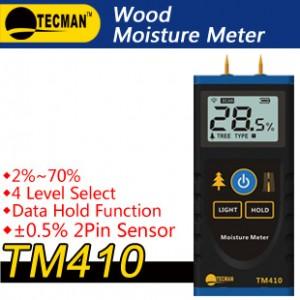 Máy đo độ ẩm gỗ TM410 Tecman