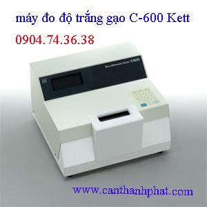 Máy đo độ trắng gạo C-600 Kett Japan