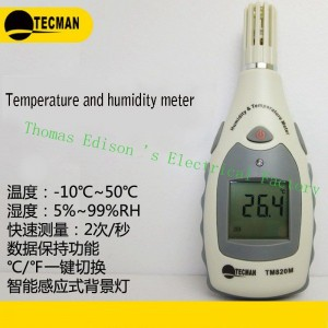 Máy đo nhiệt độ, độ ẩm TM820M-Tecman