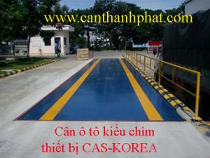Cân ô tô, cân xe tải kiểu chìm CAS Korea