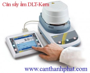 Cân sấy ẩm Kern DLT 100-3