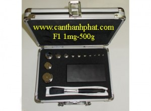 Bộ quả cân chuẩn F1 1mg-500g