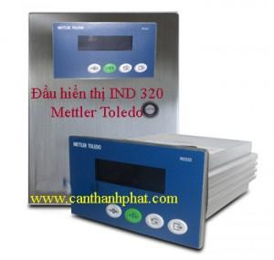 Đầu cân, đầu hiển thị IND320 Mettler Toledo