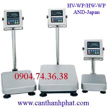 Cân bàn điện tử AND HV-WP/HW-WP