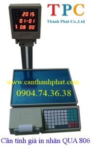 Cân tính giá in nhãn QUA 806