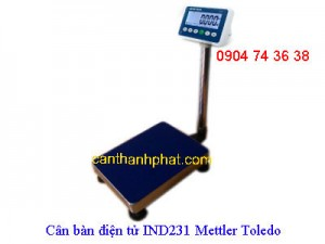 Cân bàn điện tử IND231 Mettler Toledo