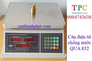 Cân điện tử chống nước QUA 832