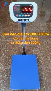 Cân bàn điện tử B6E 30kg – 600kg