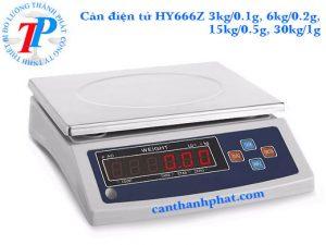Cân điện tử 1kg/0.05g HY666Z