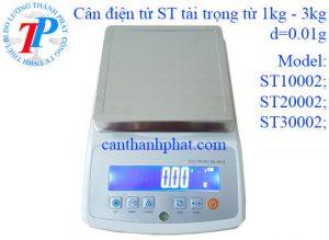 Cân điện tử ST 300g – 3000g/0.01g